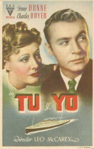 Póster de la película Tú y yo (1939)