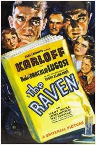 Póster de la película El cuervo (1935)