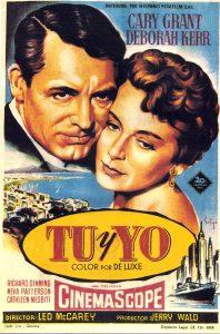 Póster de la película Tú y yo (1957)