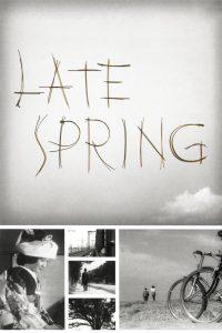 Póster de la película Primavera Tardía