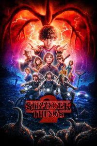 Póster de la serie Stranger Things Temporada 2