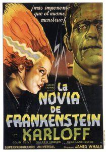Póster de la película La novia de Frankenstein