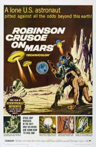 Póster de la película Robinson Crusoe en Marte