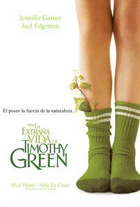 Póster de la película La extraña vida de Timothy Green