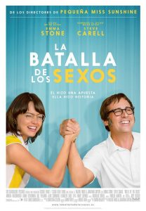 Póster de la película La batalla de los sexos (2017)