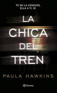 Póster del libro La chica del tren