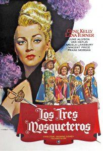 Póster de la película Los tres mosqueteros (1948)