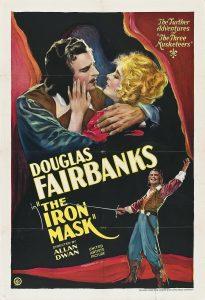 Póster de la película La máscara de hierro (1929)