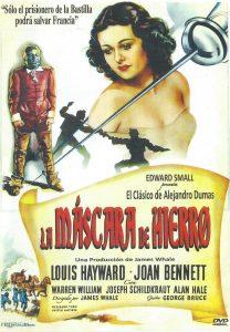Póster de la película La máscara de hierro (1939)