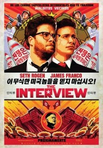 Póster de la película The Interview