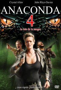Póster de la película Anaconda 4: Rastro de sangre