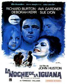 Póster de la película La noche de la iguana