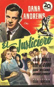 Póster de la película El justiciero (1947)