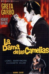 Póster de la película La dama de las camelias