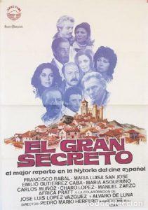 Póster de la película El gran secreto (1980)