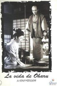 Póster de la película Vida de Oharu, mujer galante