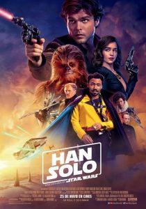 Póster de la película Han Solo: Una historia de Star Wars