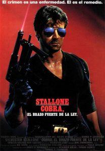 Póster de la película Cobra, el brazo fuerte de la ley