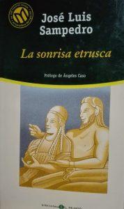 Póster del libro La sonrisa etrusca