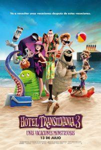 Póster de la película Hotel Transilvania 3: Unas vacaciones monstruosas