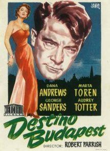 Póster de la película Destino: Budapest