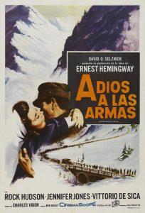 Póster de la película Adiós a las armas (1957)