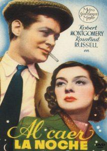 Póster de la película Al caer la noche (1937)