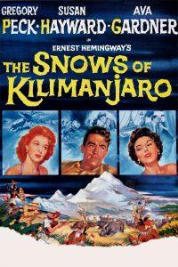 Póster de la película Las nieves del Kilimanjaro