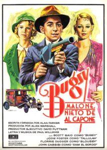 Póster de la película Bugsy Malone, nieto de Al Capone