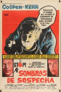 Póster de la película Sombras de sospecha (1961)
